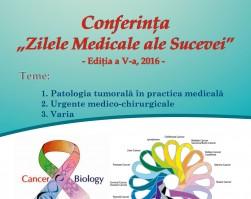 """Conferința """"Zilele Medicale ale Sucevei"""""""