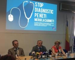 """Discursul Președintelui CMR la lansarea campaniei """"STOP DIAGNOSTIC PE NET! MERGI LA CABINET!"""""""