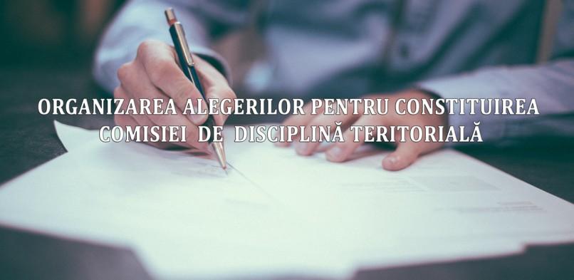Colegiul Medicilor Neamţ anunţă organizarea alegerilor pentru constituirea Comisiei  de  Disciplină teritorială