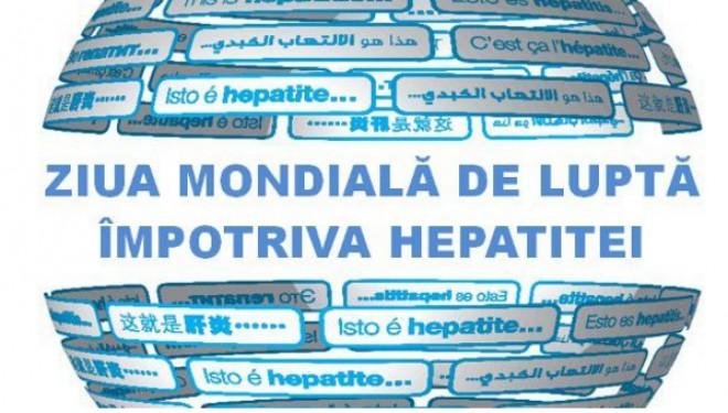 Ziua Mondiala de Lupta împotriva Hepatitei – 28 iulie 2018