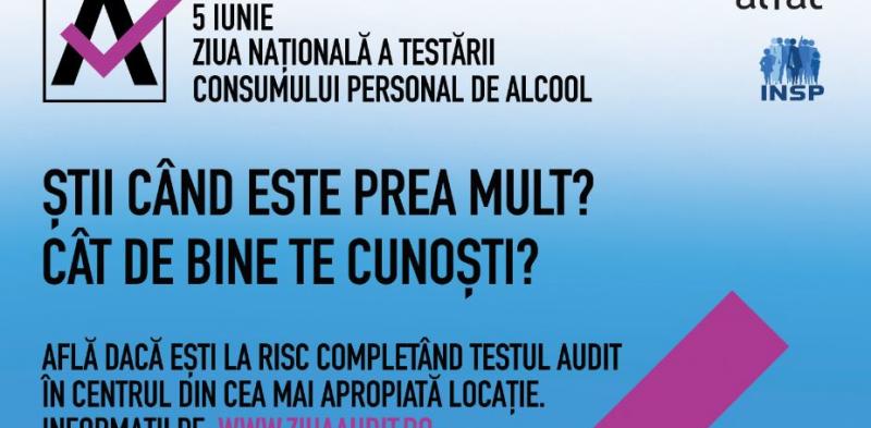 """Colegiul Medicilor din România susține """"Ziua Națională a Testării Consumului Personal de Alcool – 5 iunie 2019"""""""