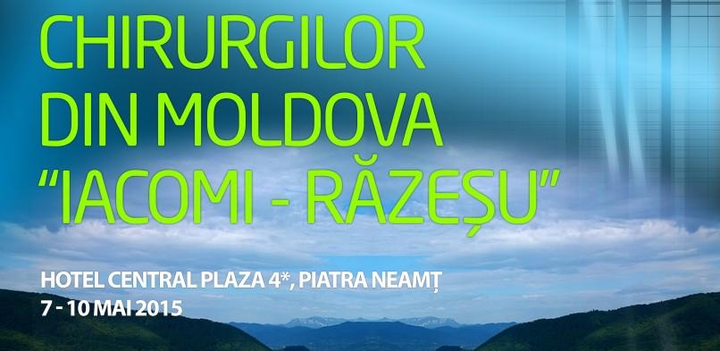 "A XXXVII-A REUNIUNE A CHIRURGILOR DIN MOLDOVA ""IACOMI RĂZEȘU"""